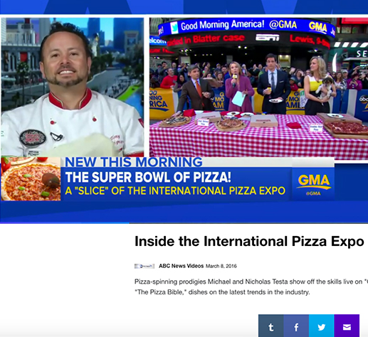 INSIDE THE INTL PIZZA EXPO IN LAS VEGAS