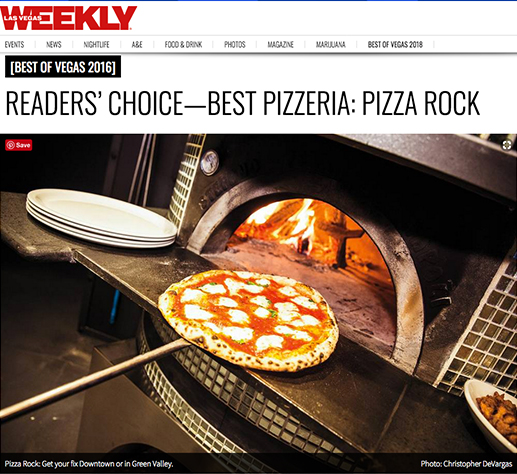 Readers Choice Best Pizzeria: Pizza Rock