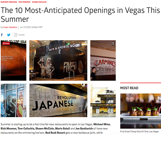 The 10 Most-Anticipated Openings in Vegas This Summer