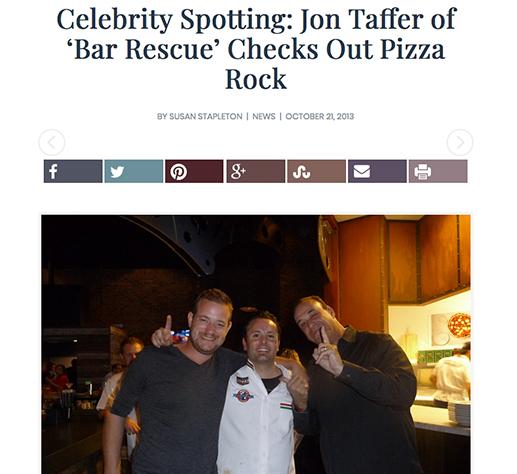Celebrity Spotting: Jon Taffer of 'Bar Rescue' Checks Out PR!