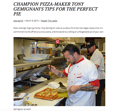 Tony Gemignani's Tips for the Perfect Pie