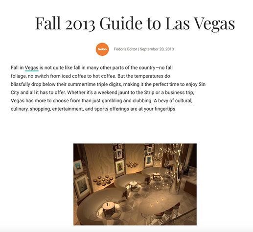 Vegas/Rated Magazine picks Pizza Rock Las Vegas