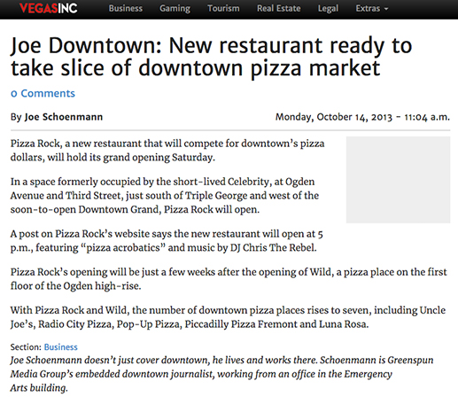 New restaurant ready to take slice of downtown pizza market