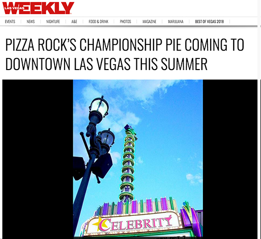 Pizza Rock's championship pie coming to Downtown Las Vegas