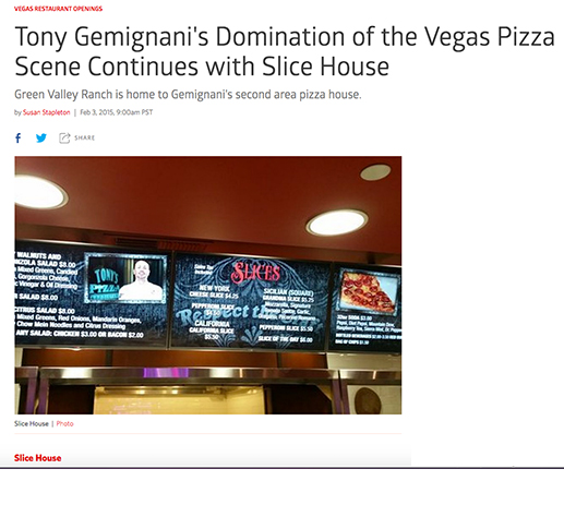 Tony Gemignani's Domination of the Vegas Pizza Scene Continues