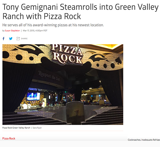 Tony Gemignani Steamrolls into Green Valley Ranch