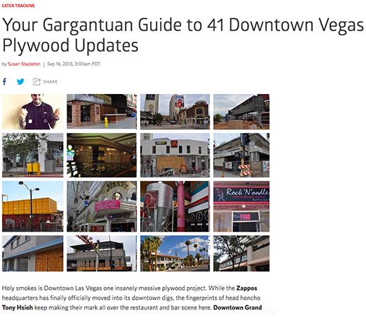 Your Gargantuan Guide to Downtown Vegas Updates