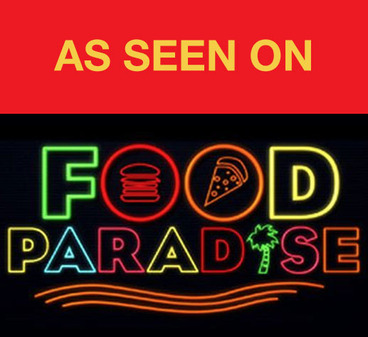 As Seen on: Food Paradise