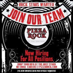 Now Hiring For All Positions